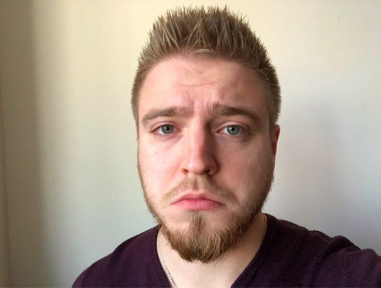 sad facial expression